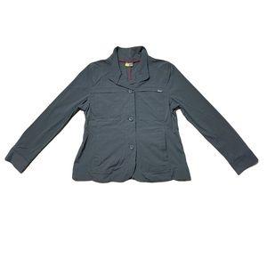 Eddie Bauer Blazer Jacket Charcoal Size P12